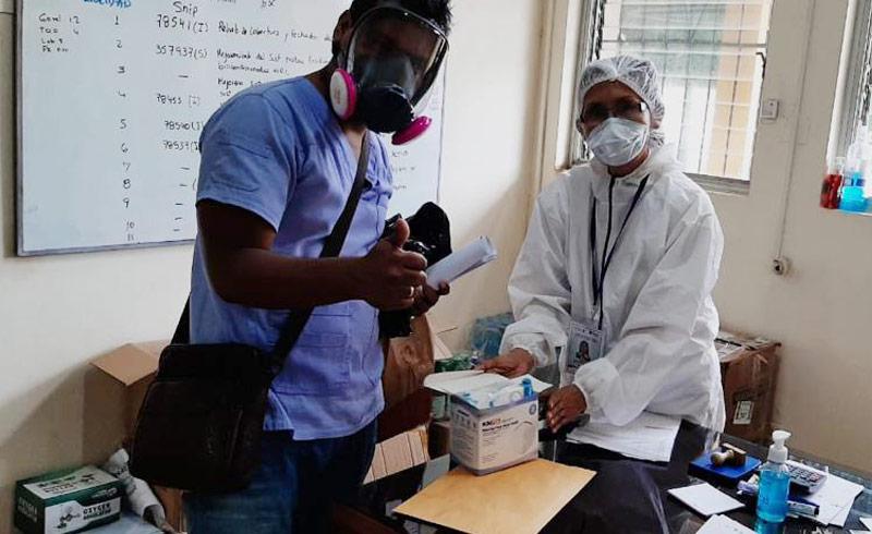 KN-95 Masks for Doctors in Loreto, Peru